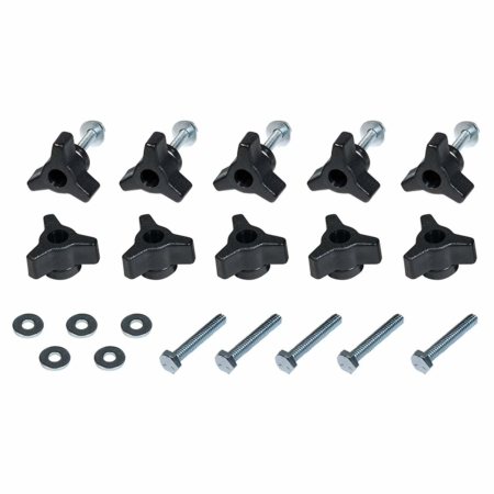 71068T T Track knobs bolts washers